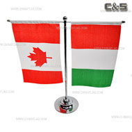 Metal Table/Desk Flag